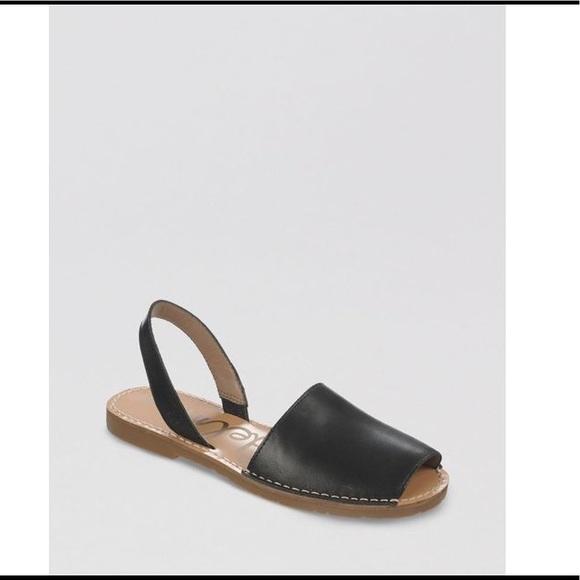 open toe flat espadrille sandals